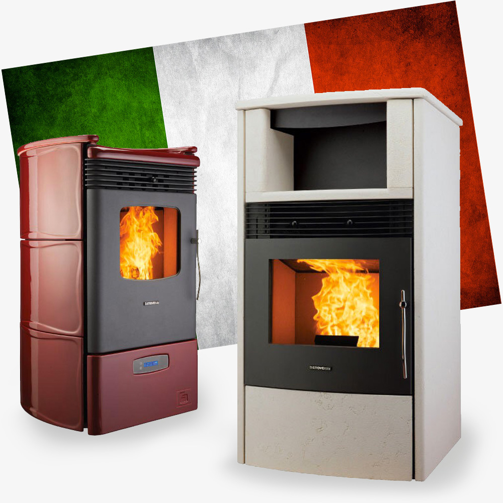stove italy granul s terre de feu. Black Bedroom Furniture Sets. Home Design Ideas
